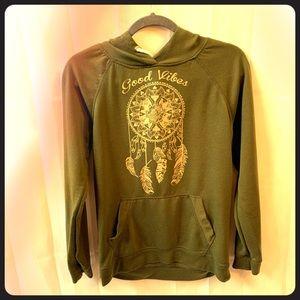 Boho graphic hoodie